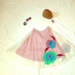 Tracy Reese Plenty tea length/midi skirt, size 8